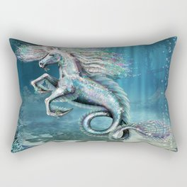 Hippocamponycorn Rectangular Pillow