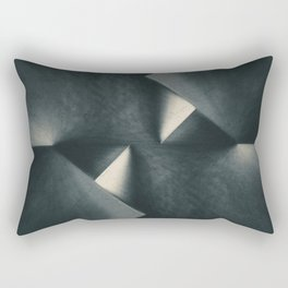 Rusty Old Blades Rectangular Pillow
