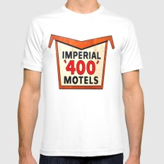 Imperial 400 MEDIUM Mens Fitted Tee White