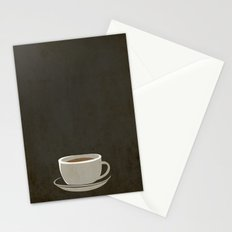 Coffee Warning Stationery Cards