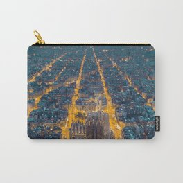 Sunset in Barcelona Carry-All Pouch