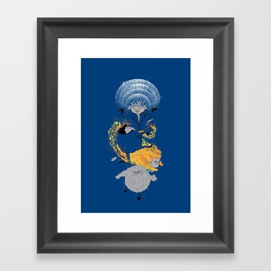 FAT'astic 4 Framed Art Print