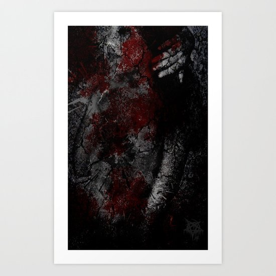 cracks Art Print