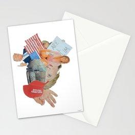 "Donald Trump Painting: ""Inside Trump's Locker"" Stationery Cards"