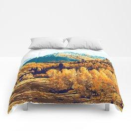 Theo #painting #digitalart #nature Comforters
