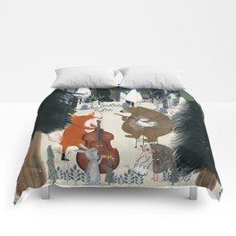 afternoon jazz Comforters