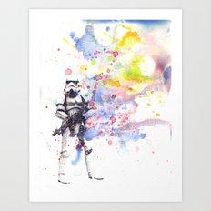 Storm Trooper from Star Wars Art Print