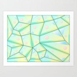 Springtime Geometry Art Print