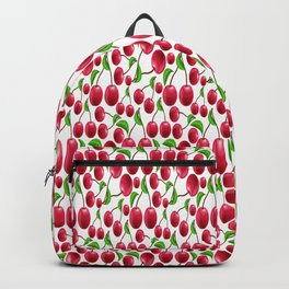 cherries pattern Backpack