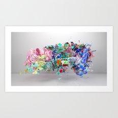 Colour Form & Expression #6 Art Print