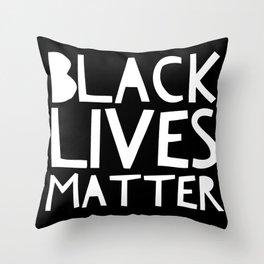 Black Lives Matter 3 Throw Pillow