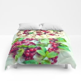 Mango foam & currants Comforters