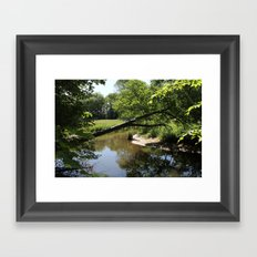 A Day On The River Framed Art Print