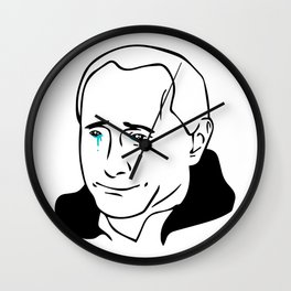Putin Cry Wall Clock