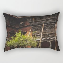 Architecture of Kathmandu City 001 Rectangular Pillow
