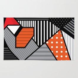 zebra finches Rug