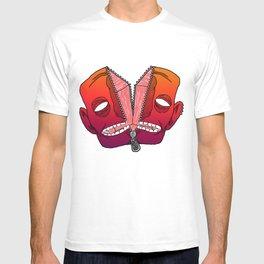 zipper dude T-shirt