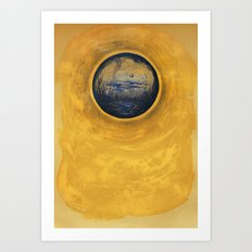 Somewhere in the Sun Art Print