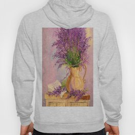A bouquet of lavender Hoody