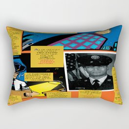 Bird of Steel Comix – 7 of 8 (Society 6 POP-ART COLLECTION SERIES) Rectangular Pillow