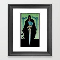 Death Bringer Framed Art Print