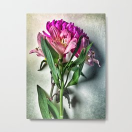 A Flower Bouquet Metal Print