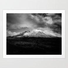 Mt. St Helens I Art Print