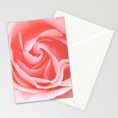Velvet pink rose - Roses Flowers Flower Stationery Cards