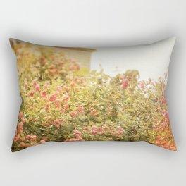 Cottage Garden Rectangular Pillow