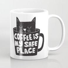 coffee is my safe place Mug