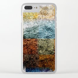 the last wrapping paper Clear iPhone Case