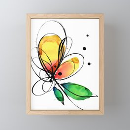 Ecstasy Bloom No.8 by Kathy Morton Stanion Framed Mini Art Print