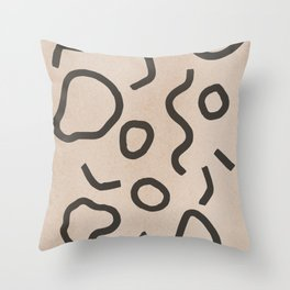 Simple Confetti Throw Pillow