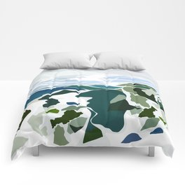 green mountains Comforters