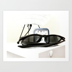 Sunglasses Art Print