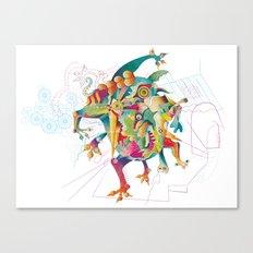 The Dream Eater #2 Canvas Print