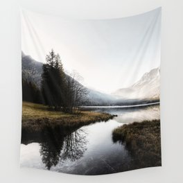 Mountain river 2 Wall Tapestry