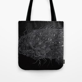 Life of Oceans: The Deep Sea Fish Tote Bag