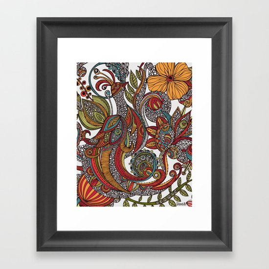 Feather Heaven Framed Art Print