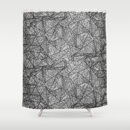 Pattern psychedelia Shower Curtain