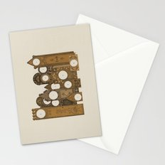 Points in time Stationery Cards