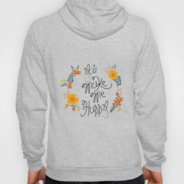 Flower  in love Hoody