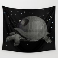chewbacca Wall Tapestries featuring DS PROTOTYPE 1.1 by Lazy Bones Studios