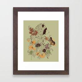 Northern Bear Framed Art Print