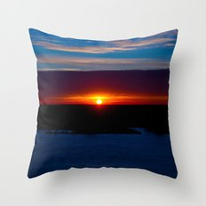 And With Every Breath, There You Are Throw Pillow