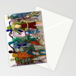 To the Beach by Lesley Nolan Stationery Cards