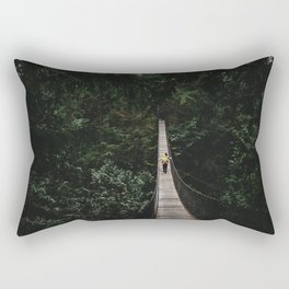 The Bridge to Nowhere Rectangular Pillow