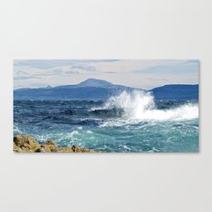 Ben More from Staffa Canvas Print