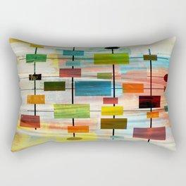 MidMod Graffiti 4.0 Rectangular Pillow