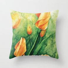 Ready to bloom Throw Pillow